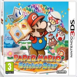 3DS PAPER MARIO Sticker Star