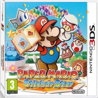 3DS PAPER MARIO Sticker Star
