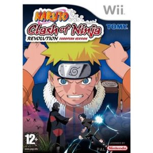 Jeu Wii NARUTO clash of Ninja REVOLUTION european version