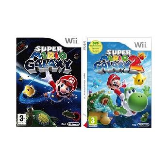 Jeu Wii SUPER MARIO GALAXY 1 et 2