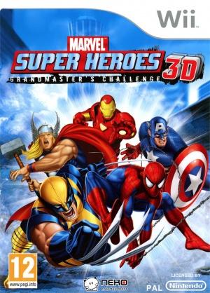 Jeu Wii MARVEL SUPER HEROES 3D grandmaster's challenge