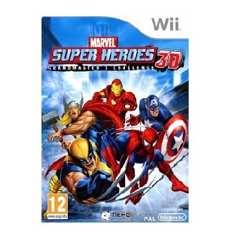 Jeu Wii MARVEL SUPER HEROES 3D