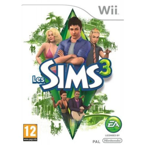 Les SIMS 3 Jeu Wii