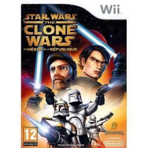 Jeu Wii STAR WARS THE CLONE WARS LES HEROS DE LA REPUBLIQUE