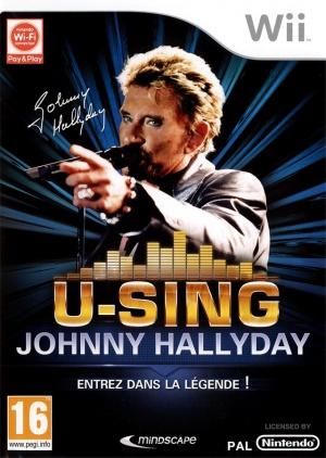 Jeu Wii U-SING JOHNNY HALLYDAY