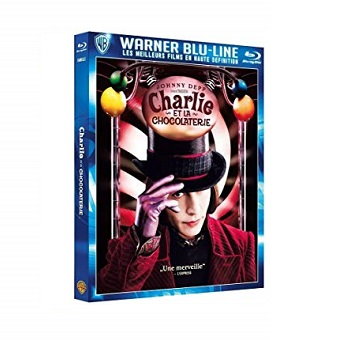 Blu-Ray Charlie et la Chocolaterie