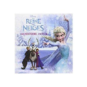 la Reine des Neiges livre + dvd