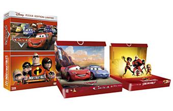 Coffret Disney PIXAR Edition Limitee Cars+Les Indestructib
