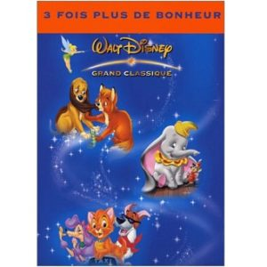 Coffret 3 DVD Disney Dumbo + Rox et Rouky + Oliver & Compagnie