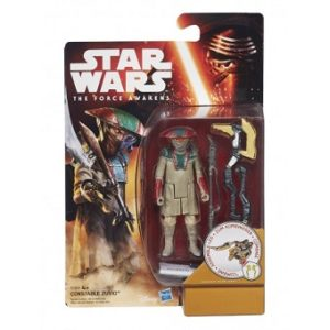 3 figurines Star Wars The Force Awakens (Constable Zuvio+Resistance Trooper+Captain Phasma)