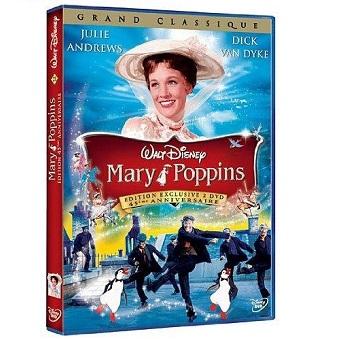 Mary Poppins Édition exclusive 45ème Anniversaire 2 DVD