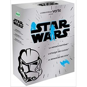 Coffret livre Star Wars Episode 1, 2 et 3