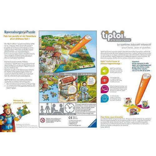 Puzzle Tiptoi Le château fort