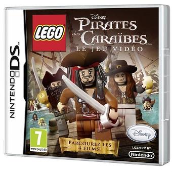 LEGO Pirate des caraibes Jeu DS