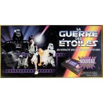 La guerre des étoiles jeu interactif (cassette VHS neuve)