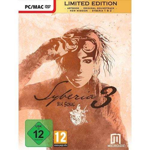 Pack Syberia 3 Limited Edition