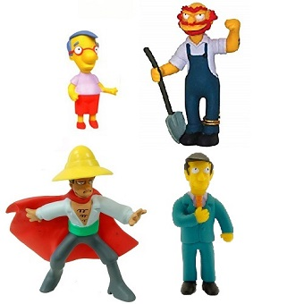 Simpson 4 Figurines