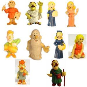 IL ÉTAIT UNE FOIS L'HOMME lot 10 figurines (collection)