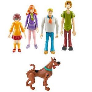 Scooby Doo. Lot 5 Figurines