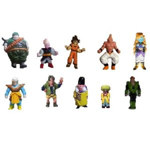 Dragon Ball Z lot 10 Figurines 1989