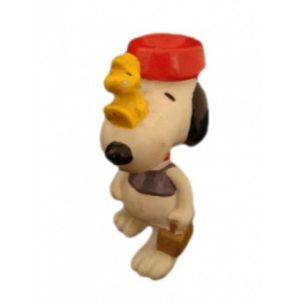 SNOOPY EQUILIBRISTE AVEC WOODSTOCK
