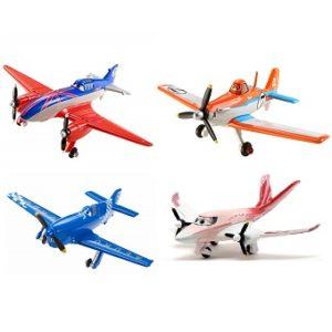 4 avions Planes Disney Pixar
