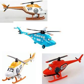 4 hélicoptères Cars lot Disney/Pixar
