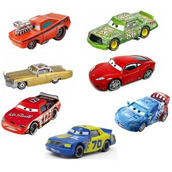 7 voitures Cars 1 et 2 Lot Disney/Pixar