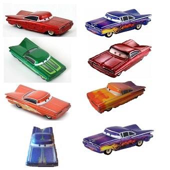 8 voitures Ramone Lot différentes couleurs Cars Disney/Pixar