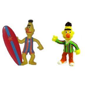 Bart 2 figurines 1 Rue Sésame