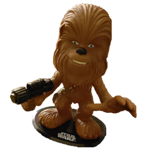 Chewbacca fig pop Star Wars funko 2009 LFL