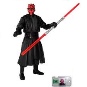 Dark Maul fig Star Wars 1998 Hasbro LFL