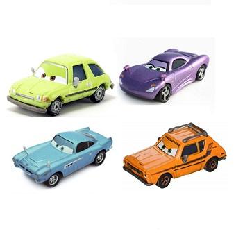 Lot 4 voitures Cars 2 (Finn+Holley+Grem+Acer) Disney/Pixar