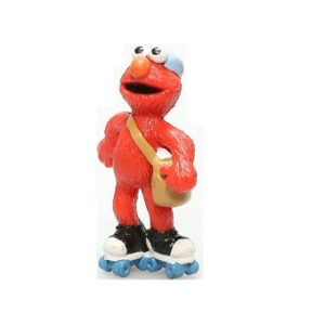 Elmo en roller Figurine 1 Rue Sésame