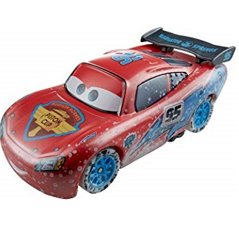 Figurine Flash McQueen Hiver cars Disney/Pixar
