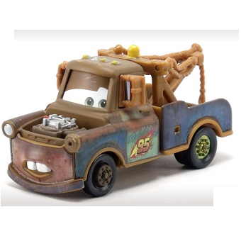 Martin avec Bombe cars Disney/Pixar