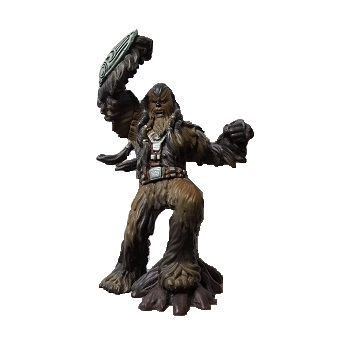 Tarfull Chef guerrier Wookie fig Star Wars 2005 LFL Hasbro