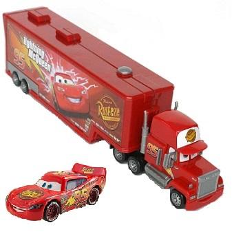 Camion Mack Cars avec Voiture Flash Mcqueen Disney/Pixar