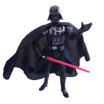 Dark Vador 2004 fig Star Wars Hasbro LFL