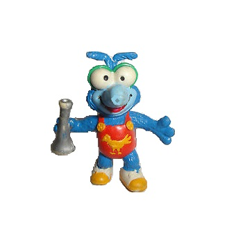 GONZO The MUPPET SHOW figurine 1986 spain