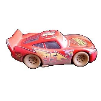 Flash McQueen avec boue et yeux mobile Cars Disney/Pixar