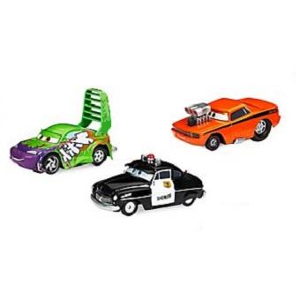 3 voitures Cars lot. Disney/Pixar