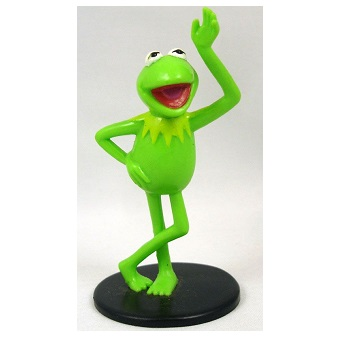 Figurine KERMIT The MUPPET SHOW par JIM HENSON PRODUCTIONS, INC.