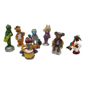 The MUPPET SHOW lot 7 Figurines