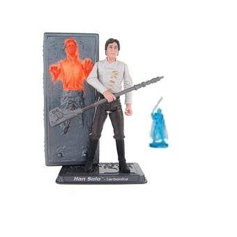 Yan Solo Carbonite fig Star Wars 2005 LFL Hasbro