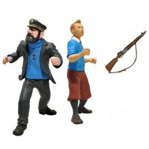 Tintin et Capitaine Haddock Paramount Picture Playstoy 2011