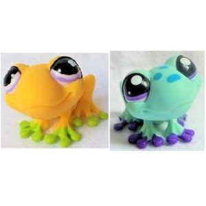 2 grenouilles Pet Shop (LPS) Hasbro