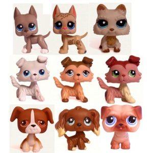 9 chiens Pet Shop (LPS) Hasbro