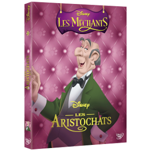 Les Aristochats DVD Disney collection Les Méchants.