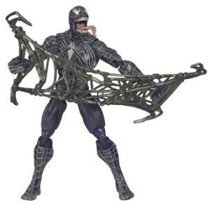 Venom 2006 Marvel Hasbro avec toile CPII 14 cm
